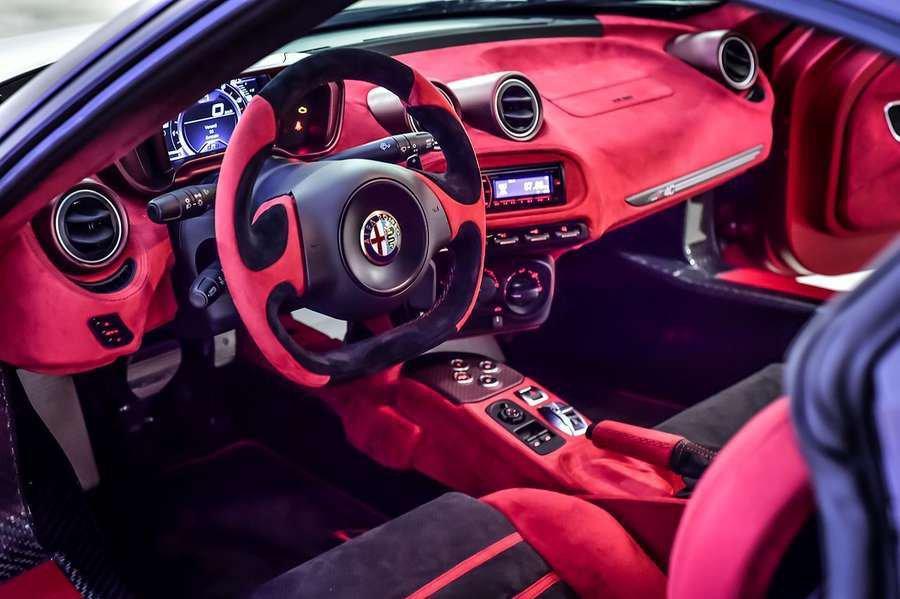 interni Alfa Romeo 4C La Furiosa