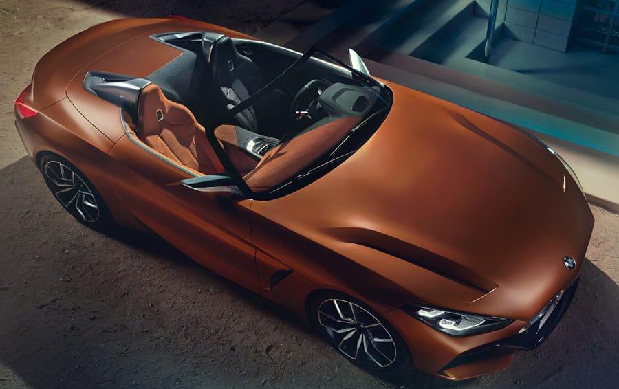 Nuova BMW Z4 concept anticipa la gamma 2018
