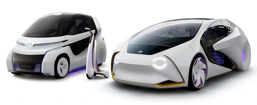 Concept Toyota, le auto del futuro sono elettriche