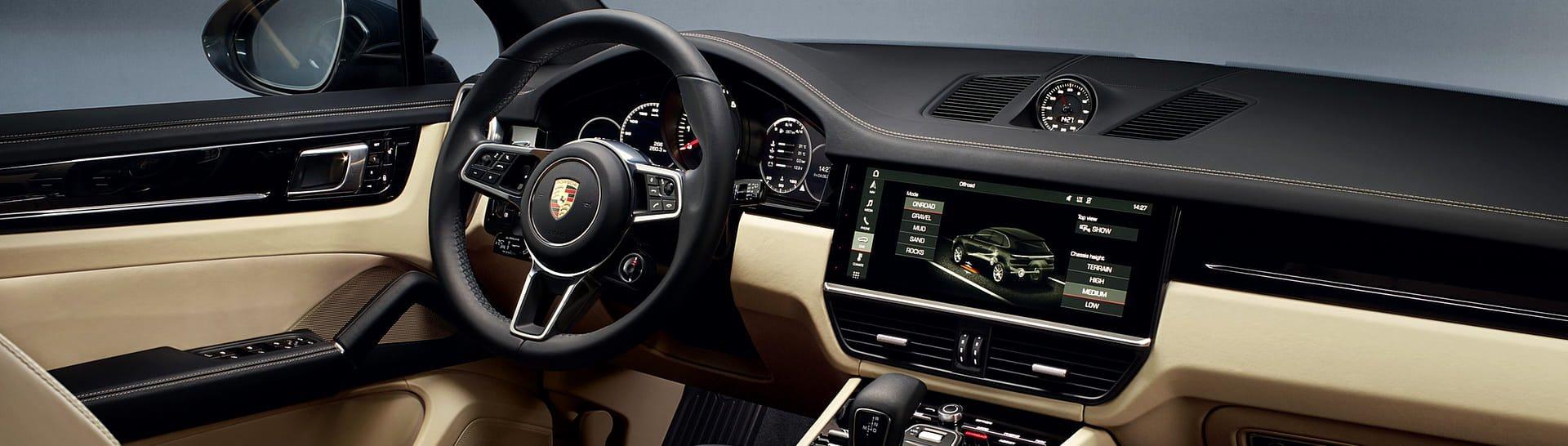 Telecamera 360 gradi Surround View Porsche Cayenne