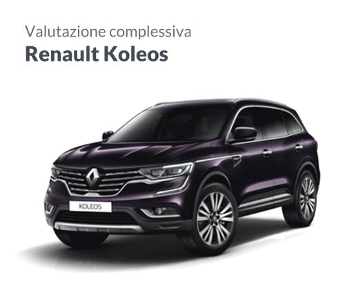 Renault Koleos valutazione maxi suv francese