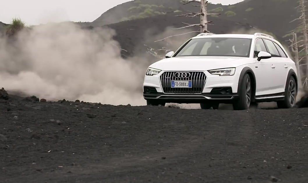 La trazione integrale quattro di Audi