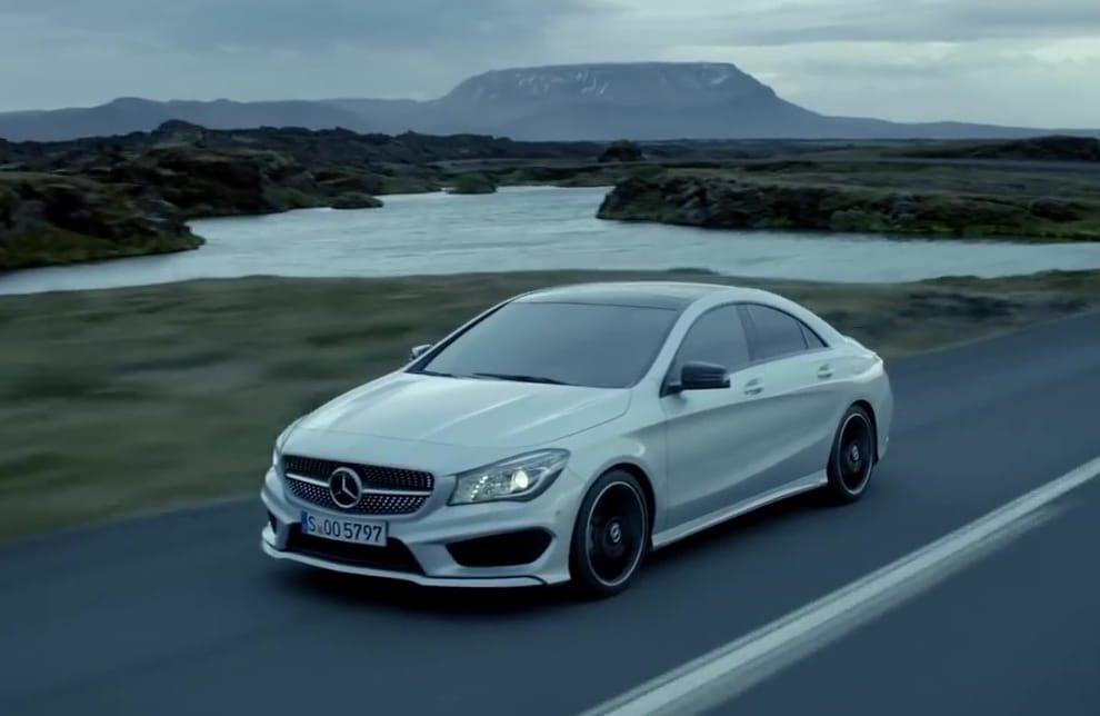 4Matic è il sistema di trazione integrale di Mercedes
