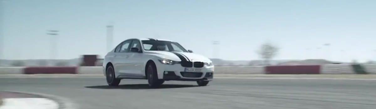 La trazione posteriore rende l'auto più rapida nell'inserimento in curva